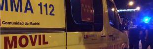 Accidente laboral en Parla: dos heridos al caer de una altura de seis metros en la A-42