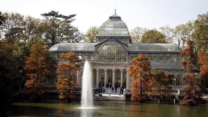 Palacio de Cristal de El Retiro.