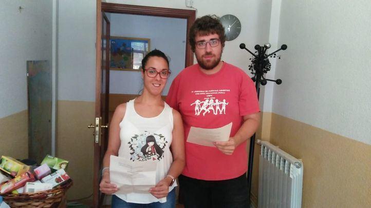 Saray y Fernando, pregoneros de las fiestas de Pinto.