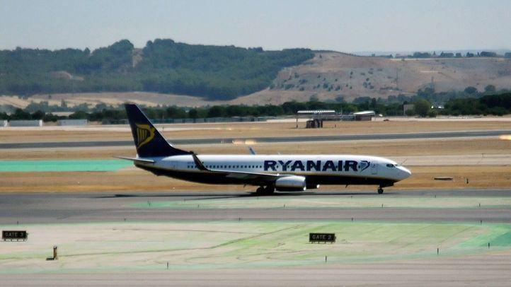 Barajas cancela vuelos a Alemania y Bélgica por la huelga de Ryanair