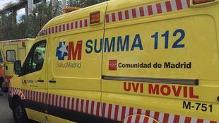 Ambulancia del Summa.