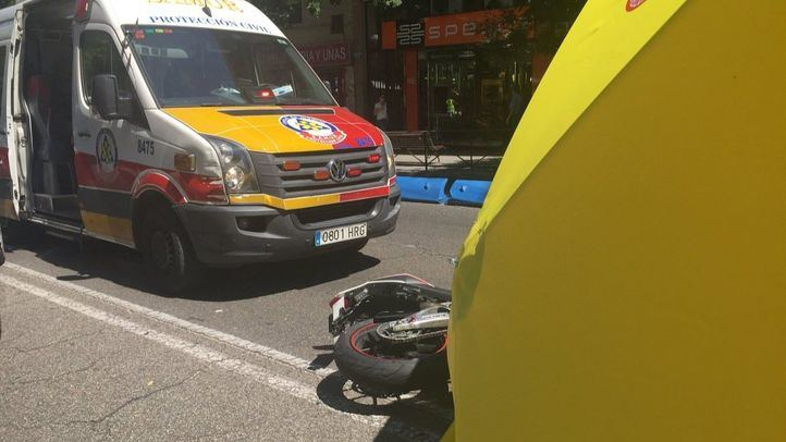 En busca de testigos de un atropello mortal en la calle Alcalá