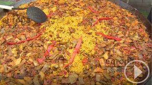 Paella y limonada para cerrar San Lorenzo
