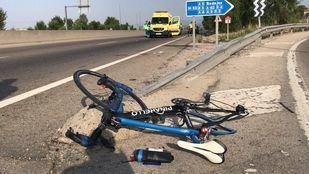 Herido grave un ciclista por un atropello en la M-505