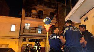 El incendio de Villaverde ha sido provocado por un hombre que se ha quemado a lo bonzo durante una fuerte discusión con su pareja