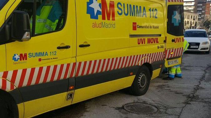 Una ambulancia del Summa en una imagen de archivo.