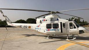 El herido ha sido trasladado en helicóptero al Hospital La Paz.
