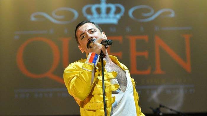 Piero Venery, 'el mejor doble del mundo' de Freddie Mercury en el espectáculo Remember Queen.