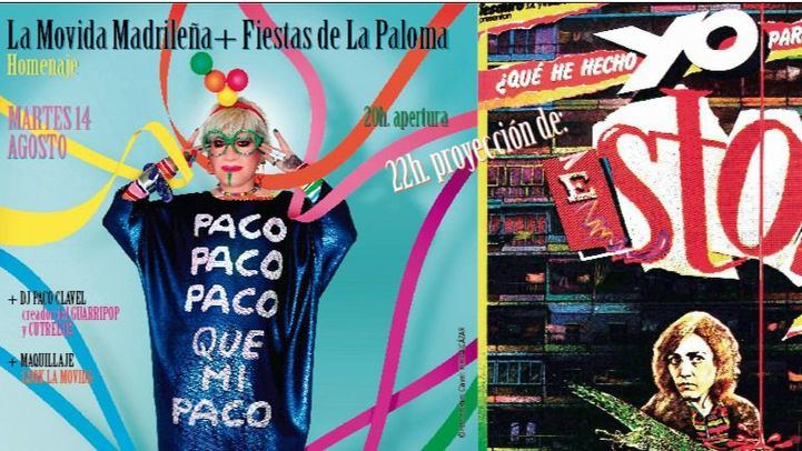 Paco Clavel y el cine de Almodóvar: La Movida Madrileña llega a Cibeles