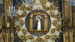 Lienzo de la Virgen de la Paloma