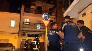 Imágenes del suceso ocurrido en Villaverde.