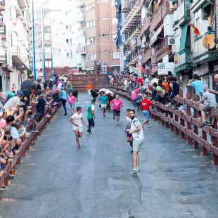 Un herido grave en los encierros de Leganés