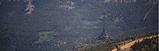 Confirmado: el fuego del Valle de los Caídos fue provocado