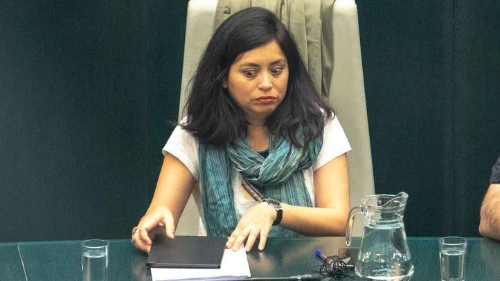 La concejal-presidenta de los distritos de Usera y Arganzuela, Rommy Arce.