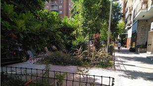 Parque de las Avenidas, en el barrio de Guindalera.