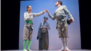 Ensamble Bufo sorprende con el más original Don Gil de la calzas verdes