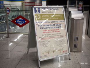 El 'plan renove' de Metro: mapa de estaciones cerradas
