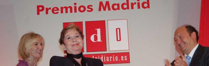 Lina Morgan en la quinta gala de los premios Madridiario.