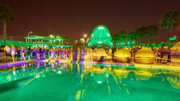 La discoteca se encuentra junto al centro comercial Tres Aguas