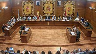 Pleno de elección del nuevo alcalde, la pasada semana.