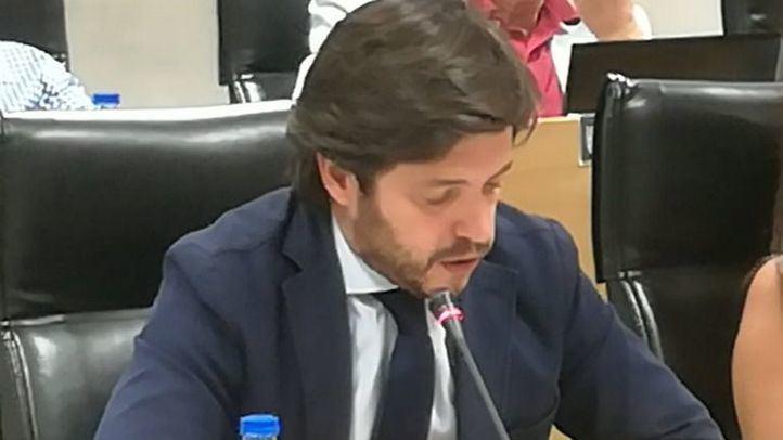 Ismael García, edil del PP agredido.