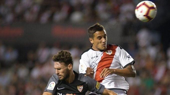 Imagen del partido que tuvo lugar el pasado fin de semana en Vallecas entre el Rayo y el Sevilla.