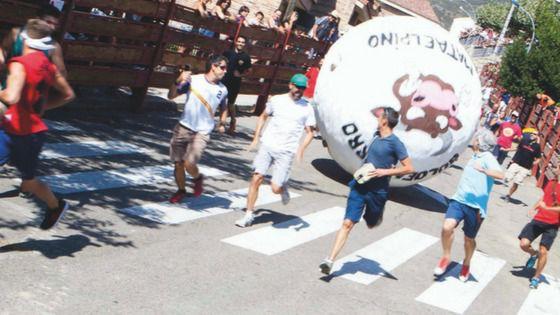 La famosa bola gigante de Mataelpino vuelve a rodar este fin de semana