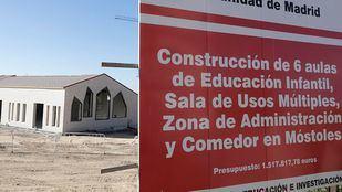 Centro en construcción en Móstoles.