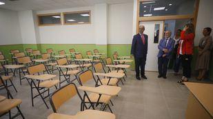 Educación rebaja a siete los colegios en obras que no llegarán a tiempo