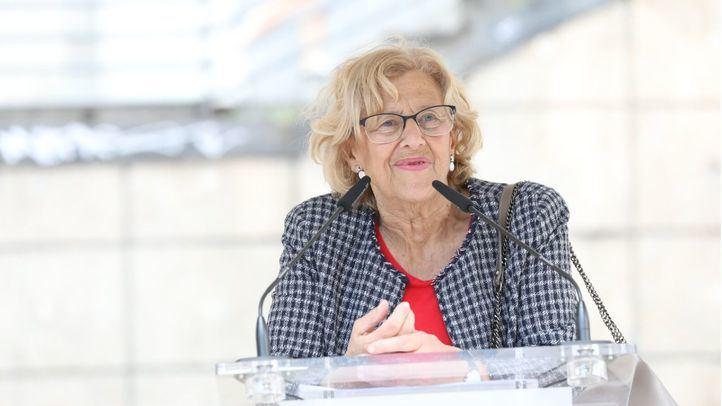 Manuela Carmena, alcaldesa de Madrid.