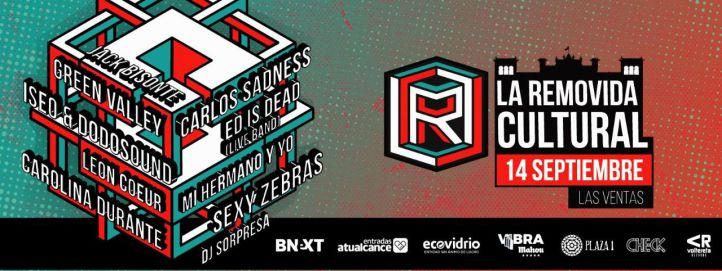 Cartel de La Removida, festival que se celebrará el próximo 14 de septiembre en Las Ventas.