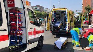 Localizado el coche que se dio a la fuga tras un atropello en Alcorcón