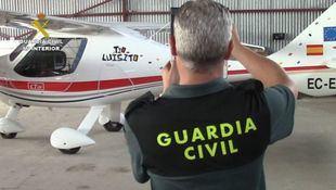 La Guardia Civil presenta el Equipo Pegaso, que perseguirá los drones ilegales.