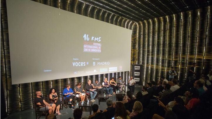Presentación del festival internacional de cine 16 Kms de la Cañada Real.