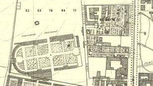 Plano del cementerio de Sacramental de