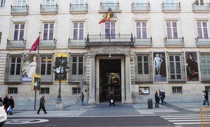 Piezas dañadas en Bellas Artes por las obras de Canalejas