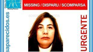 La mujer desapareció el pasado 18 de agosto.