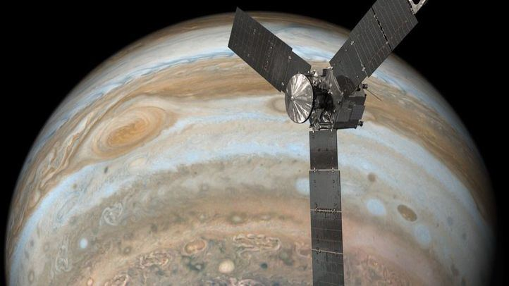 El planeta Júpiter.