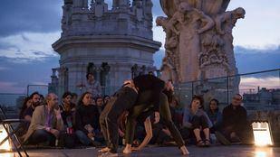 Atardecer poético en las azoteas de Madrid