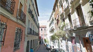 Calle Tesoro, en Malasaña.