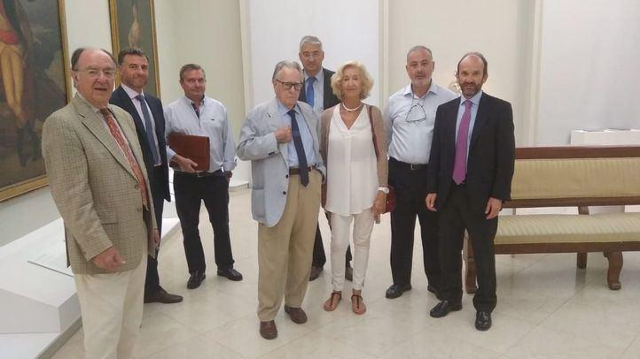 Comunidad, Ayuntamiento y Canalejas se 'coordinan' ante el riesgo de las obras para la Real Academia de Bellas Artes
