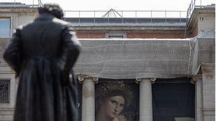 El Prado celebrará su bicentenario envuelto en andamios