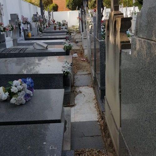 Tumbas abiertas y ataúdes rotos: el PP denuncia el estado del cementerio