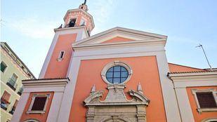 Fachada principal de la Iglesia de San Lorenzo.