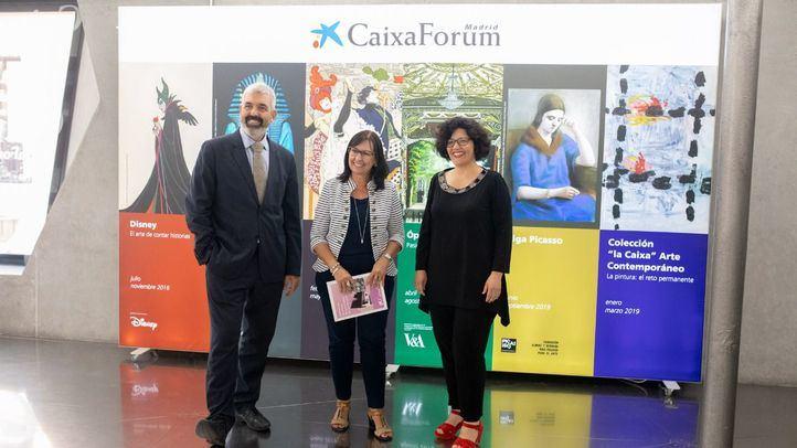 Presentación de la nueva temporada de exposiciones en Caixaforum.