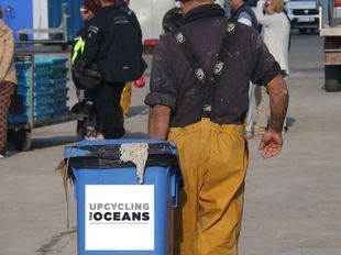 Imágenes del proyecto Upcycling the Oceans.