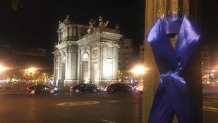 Lazos azules en otra fase del conflicto Policía-Ayuntamiento