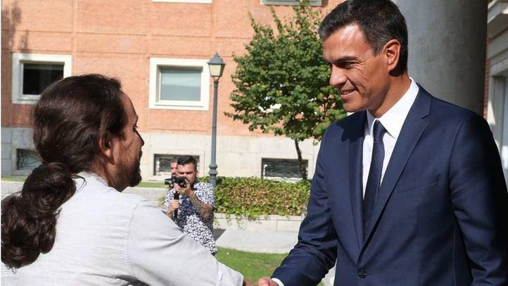 Batería de acuerdos de Legislatura entre Iglesias y Sánchez