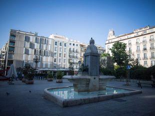 Avanza la reforma de la plaza de Pedro Zerolo