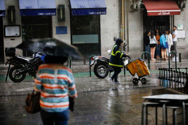 Alerta amarilla por tormentas y granizo en la región